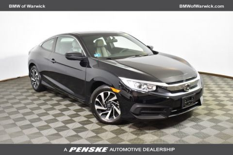 Pre-Owned 2016 Honda Civic Coupe 2dr CVT LX-P